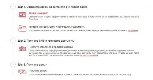 банк москвы кредит наличными онлайн заявка участника